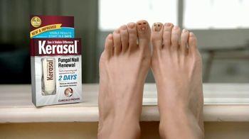 Kerasal Fungal Nail Renewal TV Spot, 'Toe Talk: Two Days' - Thumbnail 1