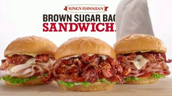 Arby's King's Hawaiian Brown Sugar Bacon Sandwiches TV Spot, 'It's Back' Song by YOGI - Thumbnail 8