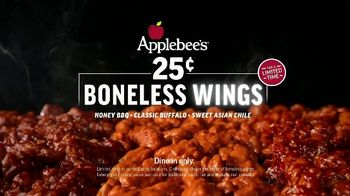 Applebee's 25-Cent Boneless Wings TV Spot, 'Back in Three Sauces' Song by Survivor - Thumbnail 9