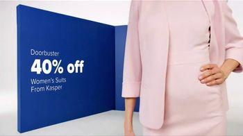 Belk Spring Fashion Sale TV Spot, 'Women's Suits and Belk Bucks' - Thumbnail 3