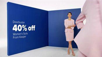 Belk Spring Fashion Sale TV Spot, 'Women's Suits and Belk Bucks' - Thumbnail 4