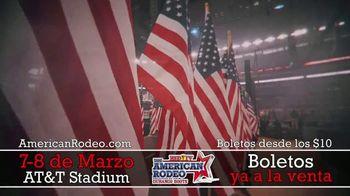 The American Rodeo TV Spot, '2020 Dallas: AT&T Stadium' [Spanish] - Thumbnail 2