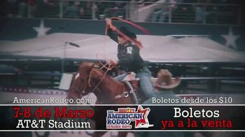 The American Rodeo TV Spot, '2020 Dallas: AT&T Stadium' [Spanish] - Thumbnail 5
