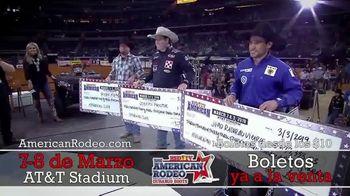 The American Rodeo TV Spot, '2020 Dallas: AT&T Stadium' [Spanish] - Thumbnail 7