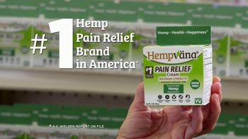 Hempvana Pain Relief Cream TV Spot, 'Top Selling Pain Relief Cream' - Thumbnail 4