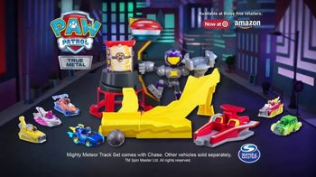PAW Patrol True Metal Mighty Meteor Track Set TV Spot, 'Ride the Lightning' - Thumbnail 9