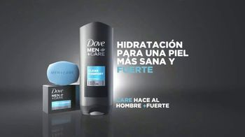 Dove Men+Care Body Wash Clean Comfort TV Spot, 'Fuerte' [Spanish] - Thumbnail 8