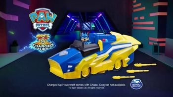 PAW Patrol Mighty Pups Charged Up Chase's Hovercraft TV Spot, 'Save the World' - Thumbnail 4