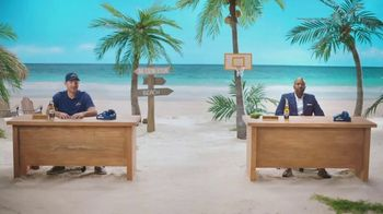 Corona Extra TV Spot, 'Bracket Problems' Featuring Tony Romo, Kenny Smith - Thumbnail 6
