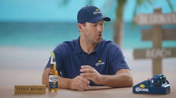 Corona Extra TV Spot, 'Bracket Problems' Featuring Tony Romo, Kenny Smith - Thumbnail 8