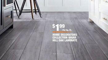 The Home Depot TV Spot, 'Unexpected: Vinyl and Laminate Flooring' - Thumbnail 8