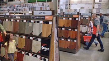 The Home Depot TV Spot, 'Unexpected: Vinyl and Laminate Flooring'