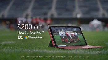 Microsoft Surface Pro 7 TV Spot, 'Your Dream Is Coming: $200 Off' Featuring Katie Sowers - Thumbnail 8
