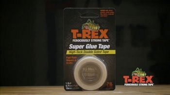 T-Rex Super Glue Tape TV Spot, 'Discreet Repairs'