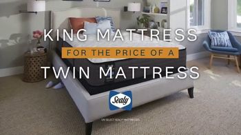 Ashley HomeStore 75th Anniversary Mattress Sale TV Spot, 'King for Twin' Song by Midnight Riot - Thumbnail 3