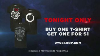 WWE Shop TV Spot, 'Join the Universe: Buy One Tee, Get One for $1' Song by Krissie Karlsson - Thumbnail 9