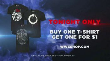WWE Shop TV Spot, 'Join the Universe: Buy One Tee, Get One for $1' Song by Krissie Karlsson - Thumbnail 7