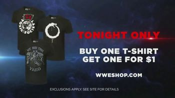 WWE Shop TV Spot, 'Join the Universe: Buy One Tee, Get One for $1' Song by Krissie Karlsson - Thumbnail 8