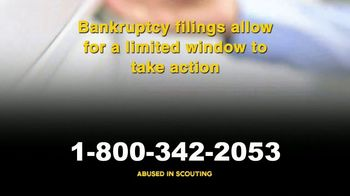 AVA Law Group, Inc TV Spot, 'Abused in Scouting: Bankruptcy' - Thumbnail 6