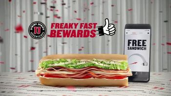 Jimmy John's Freaky Fast Rewards TV Spot, 'Game Show' - Thumbnail 10