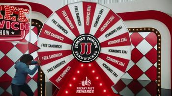 Jimmy John's Freaky Fast Rewards TV Spot, 'Game Show' - Thumbnail 4