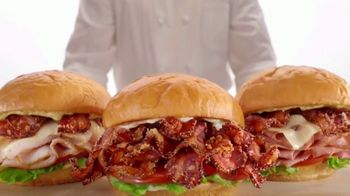 Arby's Brown Sugar Bacon Sandwiches TV Spot, 'Long Hard Life' Song by YOGI - Thumbnail 6