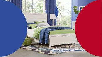 Rooms to Go Anniversary Sale TV Spot, 'Five-Piece Bedroom Set: $799' Song by Junior Senior - Thumbnail 3