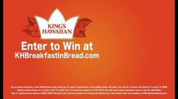 King's Hawaiian Breakfast in Bread Contest TV Spot, '$500 Grand Prize' - Thumbnail 2