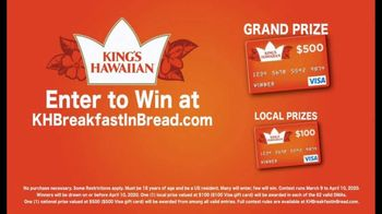 King's Hawaiian Breakfast in Bread Contest TV Spot, '$500 Grand Prize' - Thumbnail 4