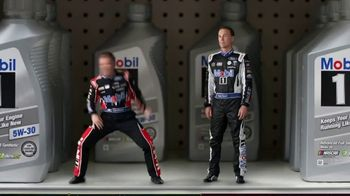 Mobil 1 TV Spot, \'Raving\' Featuring Kevin Harvick, Clint Bowyer