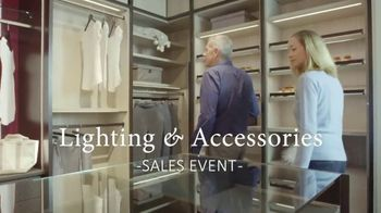 California Closets Lighting & Accessories Sales Event TV Spot, 'Save up to $1,000'