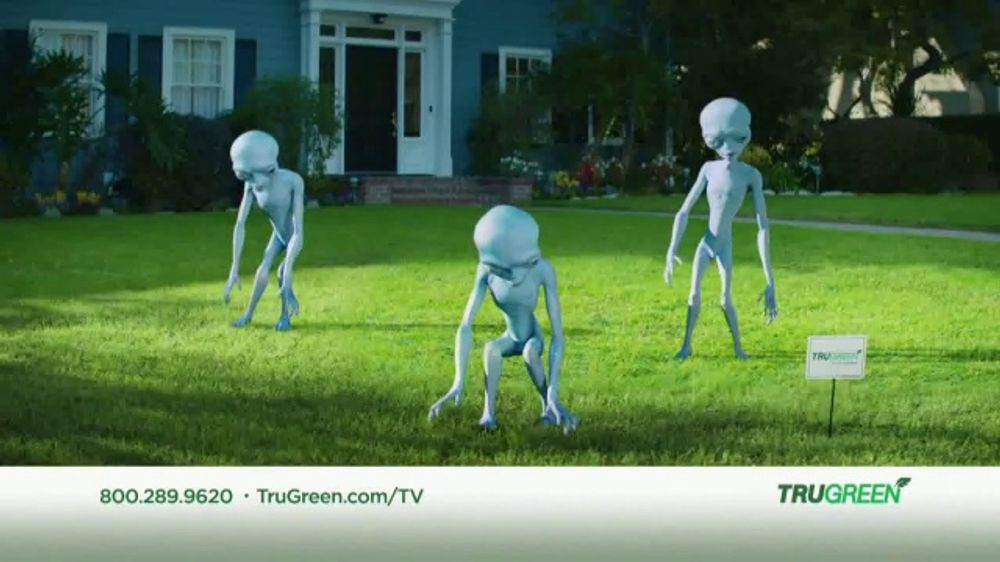 Trugreen Tv Commercial Aliens 50 Percent Off First