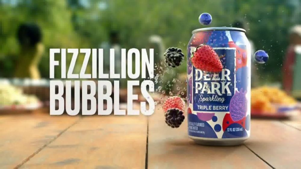 Deer Park Sparkling Water TV Commercial, 'Fizzillion Bubbles'