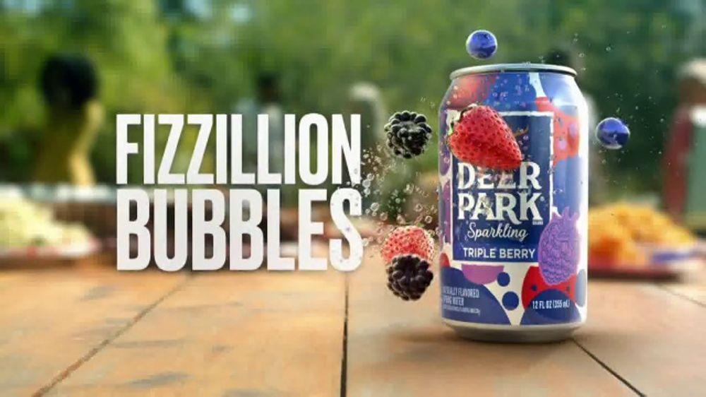Deer Park Sparkling Water TV Commercial, 'Fizzillion Bubbles'