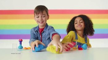 Kinetic Sand Rainbow Mix Set TV Spot, 'Rainbow Surprises'