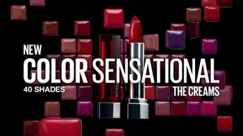 Maybelline New York Color Sensational Creams TV Spot, 'A New Feeling' - Thumbnail 10