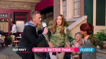 Old Navy TV Spot, 'What's Better Than Fleece?' Featuring Neil Patrick Harris, Billy Eichner - 1295 commercial airings