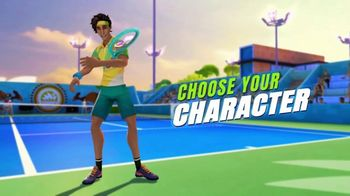 Tennis Clash TV Spot, 'Become a Tennis Legend' - Thumbnail 3