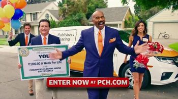 Publishers Clearing House TV Spot, '$7,000 a Week: Last Chance' Featuring Steve Harvey