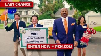 Publishers Clearing House TV Spot, '$7,000 a Week: Last Chance' Featuring Steve Harvey - Thumbnail 3