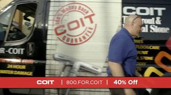 COIT TV Spot, 'Natural Stone Surfaces: 40 Percent Off' - Thumbnail 2