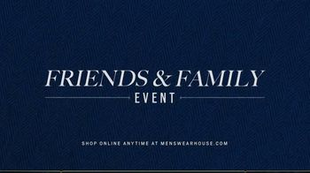 Men's Wearhouse Friends & Family Event TV Spot, 'Savings on Suits and Shoes' - Thumbnail 1
