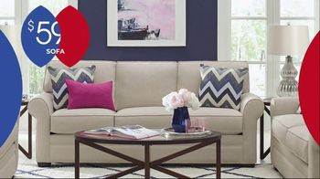 Rooms to Go Anniversary Sale TV Spot, 'Five Piece Living Room Set' Song by Junior Senior - Thumbnail 4