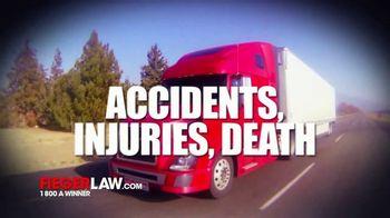 Fieger Law TV Spot, 'Trucks: Responsible'