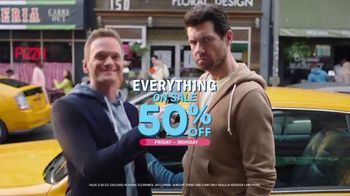 Old Navy TV Spot, 'What's Better: 50 Percent' Featuring Neil Patrick Harris, Billy Eichner - 795 commercial airings