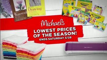 Michaels Lowest Prices of the Season Sale TV Spot, 'Easter Decor' - Thumbnail 6
