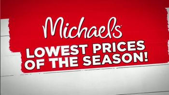 Michaels Lowest Prices of the Season Sale TV Spot, 'Easter Decor'