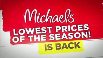 Michaels Lowest Prices of the Season Sale TV Spot, 'Easter Decor' - Thumbnail 2