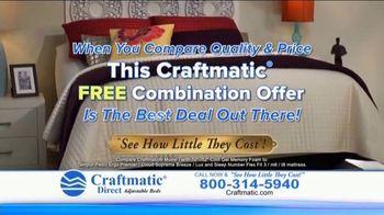 Craftmatic TV Spot, 'Fully Adjustable Base Free' - Thumbnail 6