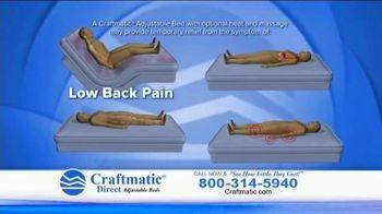 Craftmatic TV Spot, 'Fully Adjustable Base Free' - Thumbnail 7